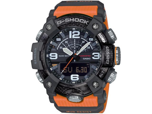 CASIO G-SHOCK Mudmaster GG-B100-1A9ER Reloj Hombre, black/orange